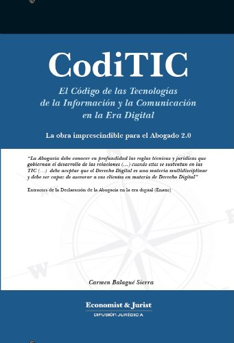 Descargar Libro Coditic Abogados 2.0 Carmen  Balagué