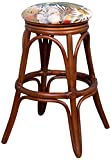 Alexander & Sheridan UNI10424-SI-SWS Universal Backless Barstool in Sienna Finish, 24″, SeaWorld Sand For Sale