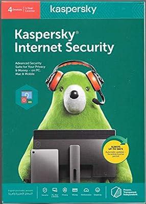 KASPERSKY INTERNET Security 2020 - 4 مستخدمين - نسخة أصلية من منتصف الشرق -  عام واحد: Amazon.ae