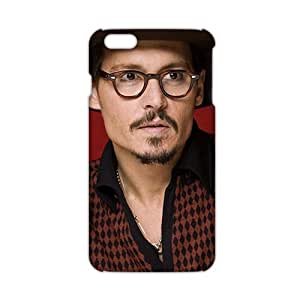 2015 Ultra Thin johnny depp rings 3D Phone Case and Cover for Iphone 6 Plus by icecream design
