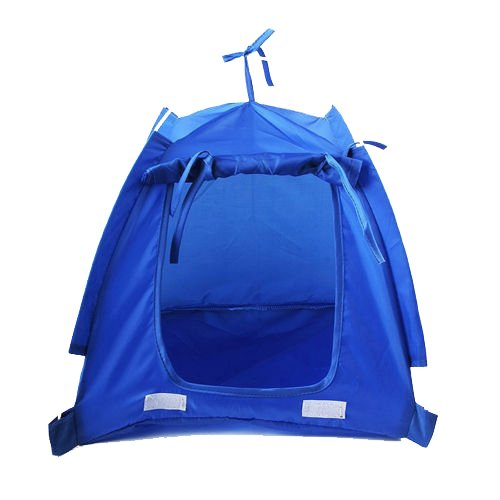 TOOGOO(R) Pet Kitten Cat Puppy Dog Mini Nylon C& Tent Bed Play House Blue-S  sc 1 st  Amazon.com & Mini Tent: Amazon.com