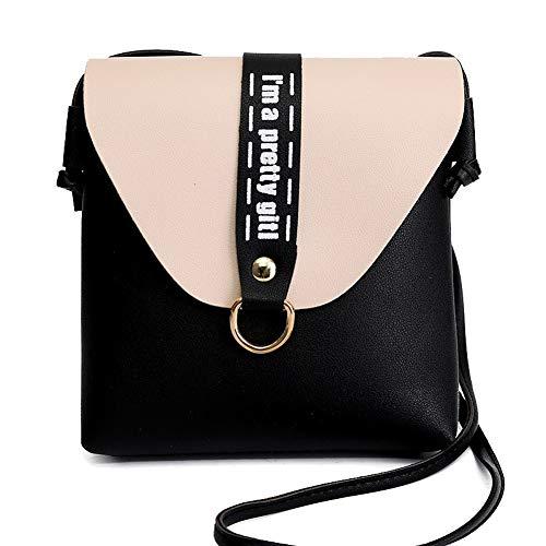 GMDBA215186 Pu Women's Crossbody Shopping Red Black AgooLar Casual Bags Bags H0wHBq