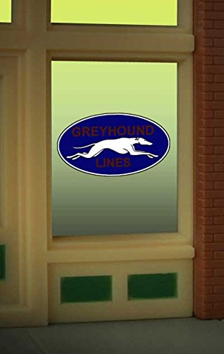 8950 Greyhound Bus window Sign by Miller Signs (Greyhound Bus Model compare prices)