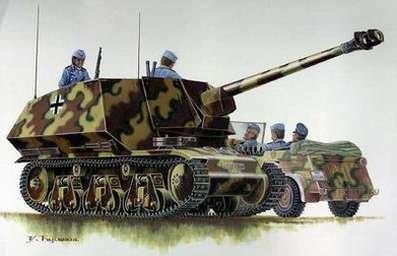 1/35 WWII ドイツ陸軍 7.5 Pak-40対戦車自走砲 H39f G-08の商品画像
