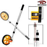 10,000 Ft Lcd Digital Walking Rolling Tape Measure Measuring Wheel Tool Stick
