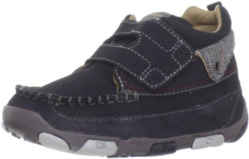 Geox - Zapatos primeros pasos de Piel Vuelta para niña Azul - azul