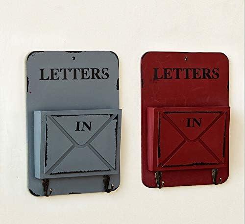 JangGun Store - Caja de Madera para Guardar Cartas de Estilo Vintage y postoral: Amazon.es: Jardín