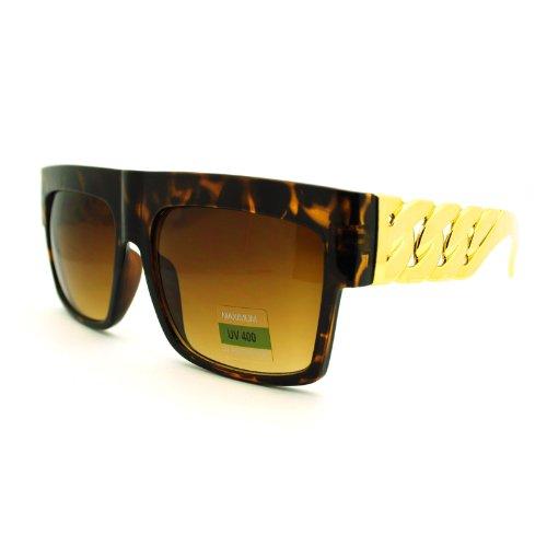 Designer Inspired Unisex Sunglasses Tortoise