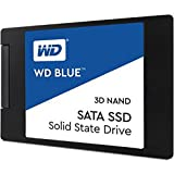 WD Blue 3D NAND 500GB PC SSD - SATA III 6 Gb/s 2.5'/7mm Solid State Drive - WDS500G2B0A