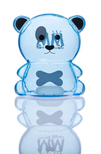 Money Master Kids Smart Dog Bank, Clear Plastic Light & Super Small Enough to Fill UP Fast! Make Saving Money Fun for Kids!