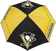 "NHL Pittsburgh Penguins 62"" Windsheer Lite Umbrella62 Windsheer Lite Golf Umbrella, Mult"