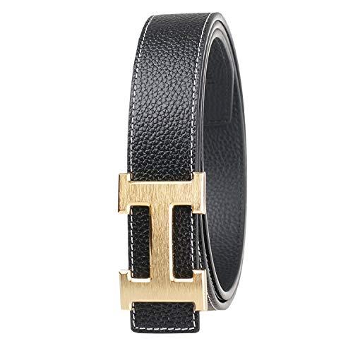 F.YU Womens Belts Genuine Leather belt Business Casual Belt
