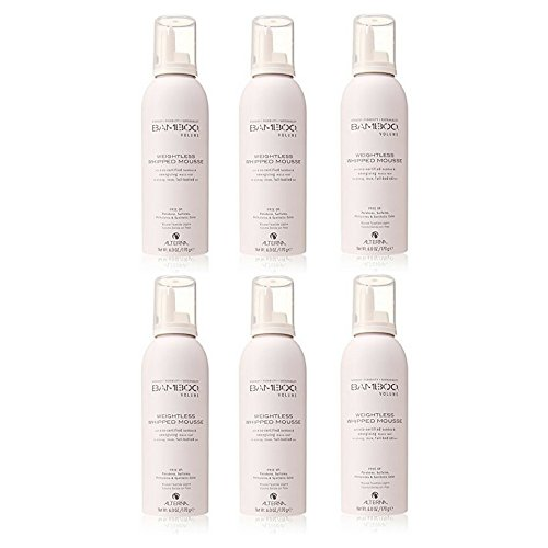 Alterna Bamboo Volume Weightless Whipped Mousse for Unisex, 6 Ounce (6pack) by by Alterna