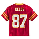 Outerstuff Travis Kelce Kansas City Chiefs #87 Red Youth Home Player Jersey