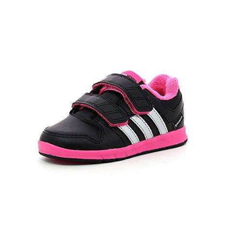 Adidas-Adidas lk trainer 6 nero, per bambina-2002006504672 G