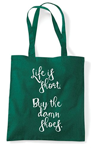 Damn Is Dark Green Buy Bag Shoes Short Statement Life The Tote Shopper IPvwqZd