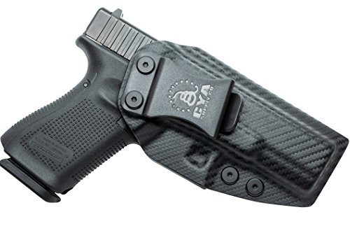 CYA Supply Co. IWB Holster Fits: Glock 19 / 19X / 23/32 / 45 - GEN 3-5 - Veteran Owned Company - Made in USA - Inside Waistband Concealed Carry Holster (Best Appendix Carry Holster)