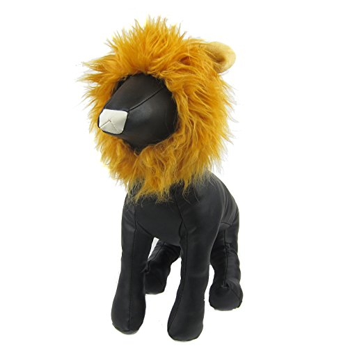 Alfie Pet by Petoga Couture - Leigh Lion Mane Wig Costume for Dogs and Cats - Color: Golden Brown
