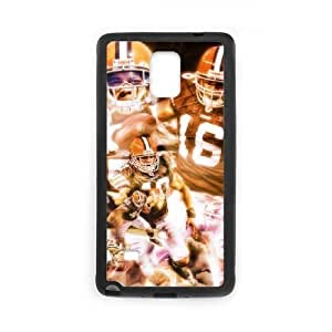 Cleveland Browns Samsung Galaxy Note 4 Cell Phone Case Black DIY gift zhm004_8714626
