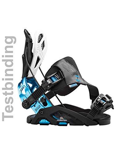 Herren Snowboardbindung Flow Fuse-Gt Hybrid Test