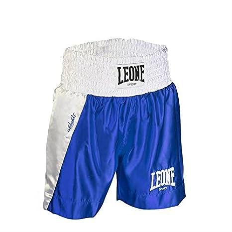 Pantaloncini da Boxe Leone Linear AB730  Amazon.it  Sport e tempo libero f84d1a4e7096