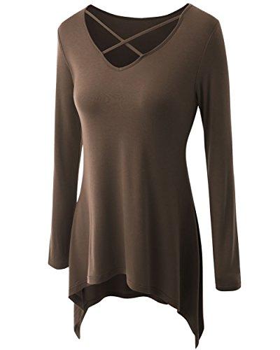 VLUNT - Camisas - para mujer café