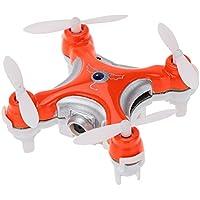 Cheerson CX-10C 2.4GHz 4CH 6 axis gyro Nano Drone RTF (Orange)【Japan Domestic genuine products】