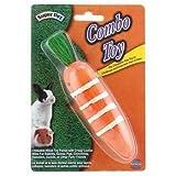 (US) Super Pet/Pets International Combo Toy Crispy & Wood Carrot