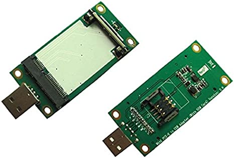 Mini PCI-E inalámbrica WWAN de tarjeta adaptadora USB con ...