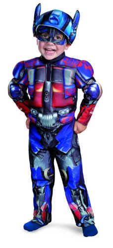 Transformers Optimus Toddler Muscle Costume - Small (2T) ()