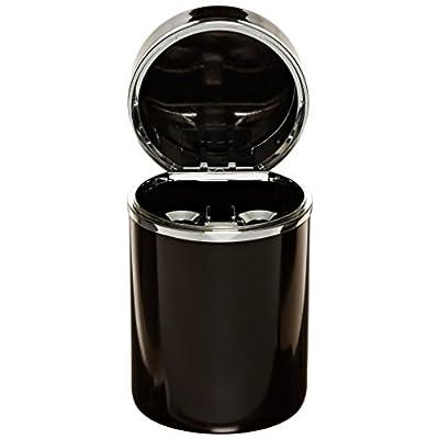 Bell Automotive 22-1-30230-8 Black/Chrome Aluminum Ashtray: Automotive