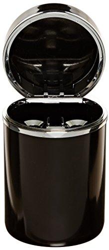 Bell Automotive 22-1-30230-8 Black/Chrome Aluminum Ashtray
