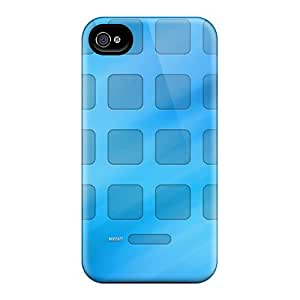 New Design Shatterproof GDM22149cpZe Cases For Iphone 6 (grid Wallpaper)