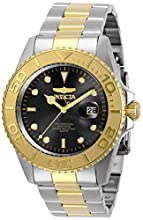 Invicta Men's Pro Diver Quartz Watch with Stainless Steel Strap, Two Tone, 22 (Model: 29948)