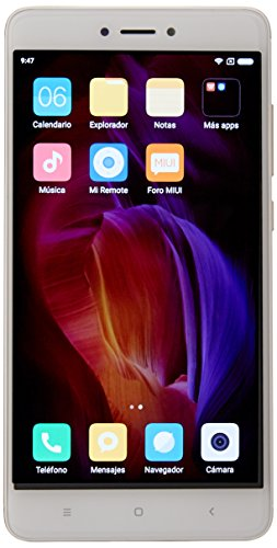 Xiaomi Redmi Note 4 5.5-Inch GSM Unlocked Smartphone with Dual LTE, 32GB,...