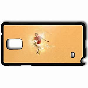 Personalized Samsung Note 4 Cell phone Case/Cover Skin 1 Manchester United Football Black