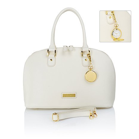 JOY   IMAN 21-Section Luxe Genuine Leather Handbag   Pocket Watch - CREAM  LATTE - Buy Online in Oman.   Miscellaneous Products in Oman - See Prices,  ... 4463450c6d
