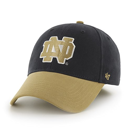 NCAA Notre Dame Fighting Irish Kids Short Stack '47 MVP Adjustable Hat, Toddler, Navy