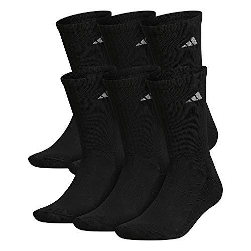 adidas mens Athletic Cushioned Crew Socks
