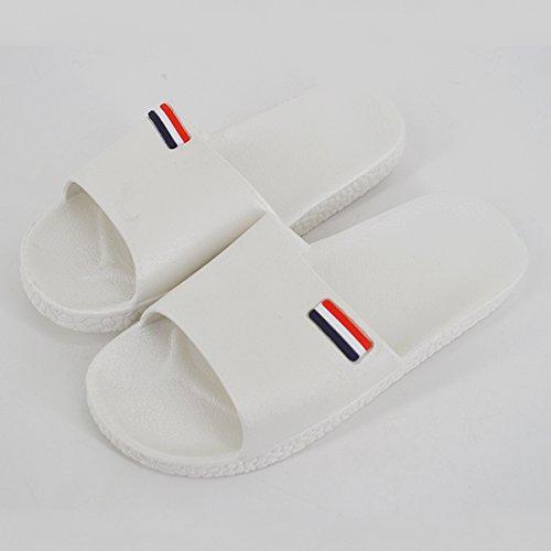 Femme LA HAUTE Chaussons Pour Blanc SBtZqBw