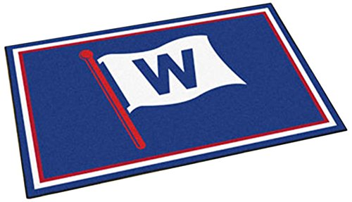FANMATS MLB - Chicago Cubs 4'x6' Rug
