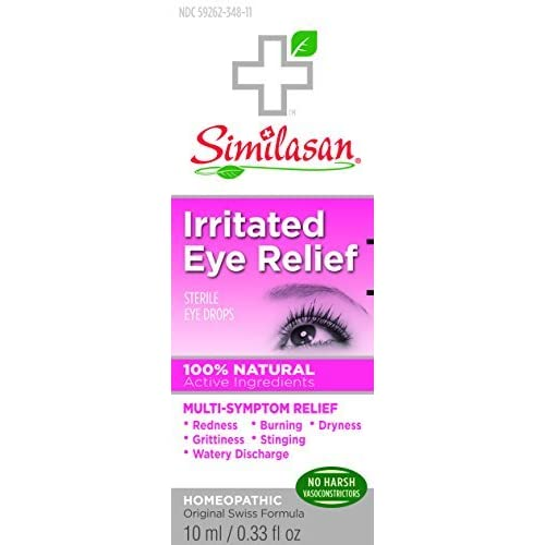 Similasan Irritated Eye Relief Drops 0.33 OZ - Buy Packs and SAVE (Pack of 3)