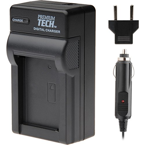 Premium Tech PT-53 Mini Battery Charger for Canon LP-E6