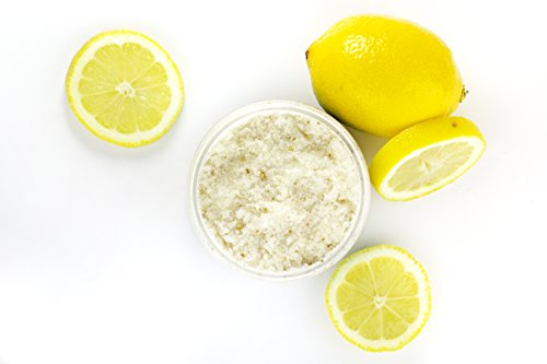 Fresh Lemon Sugar Body Polish Skin Softening nourishing exfoliating treatment, made from all natural ingredients 13.4 ounces