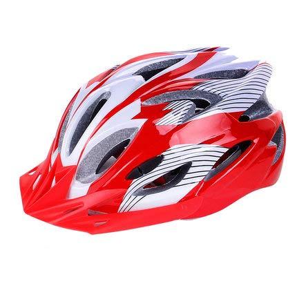 Rocket Bluetooth Science (YXDDGG Adult Bike Helmet Adjustable Trinity Men Women Mountain Bicycle Road Bike Helmet Safety Protection.-I 54-64cm(21-25inch))