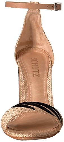 Schutz Women's Carolaine, Black, 7 M US