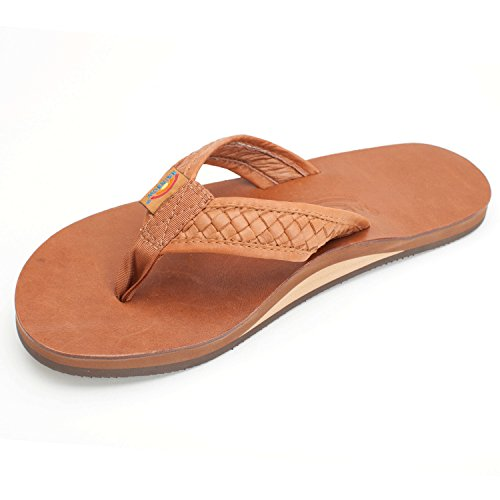 Rainbow Sandals Men's Bentley Sandals Classic Tan Size X-Large (11-12) (Nylon Rainbow Sandals)