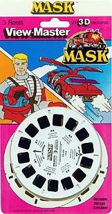 (ViewMaster presents MASK, (Mobile Armored Strike Kommand) 3 Reel Set.)
