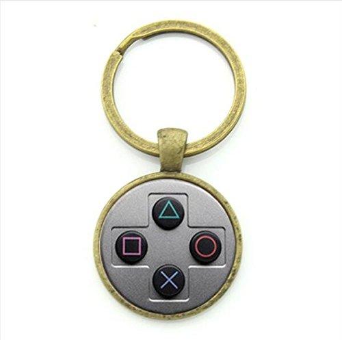 Juego Controlador llavero, Gamer regalo, controlador ...