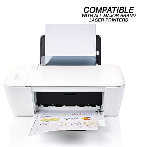 """Emraw 8.5"""" X 11"""" inch (27.9 x21.5 cm) Multipurpose Computer Laser Paper Printer, Fax, Copier Machines (450 Sheets) by Emraw (Image #3)"""